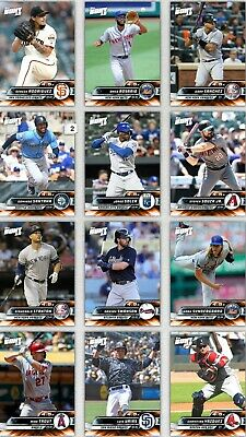 Topps Bunt 2019 4.5x Boost Orange Choose The Digital Card