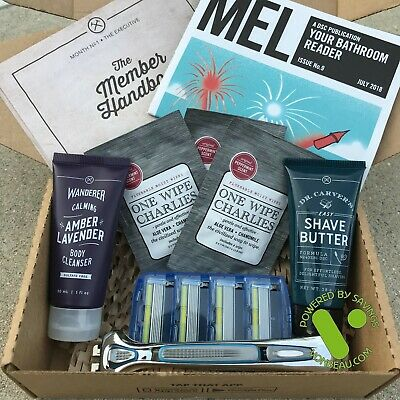 Dollar Shave Club Executive Daily Essentials Set NEW SEALED Authentic Ships FREE
