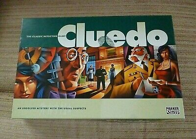 Parker Cluedo The Classic Detective Board Game 2003 by Parker (Hasbro)