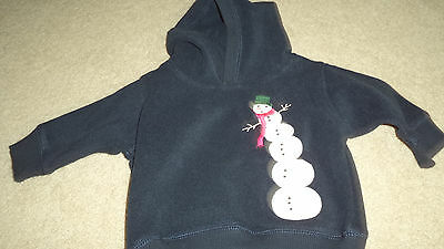 Gymboree Boy's Snowman Sweatshirt 6-12 Months - New with tags