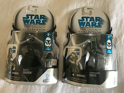 Star Wars: Legacy Collection DARTH VADER & COMMANDER GREE First Day of Issue