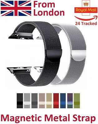 For Apple Watch Metal Band Strap Milanese Magnetic Loop Steel Edition 1 2 3 4 5