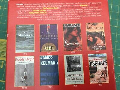 The Booker Prize Winner Collection 8 Paperback Book Set