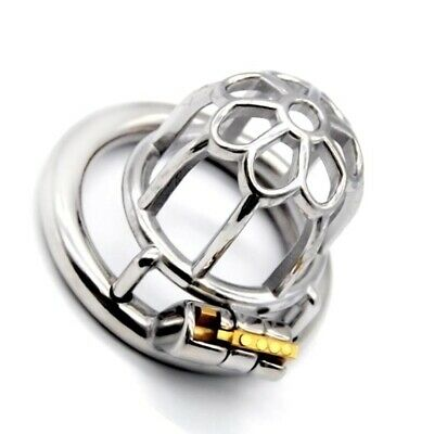 304 Stainless Steel Male Chastity Device 50 mm Back Ring High Grade Cage 018