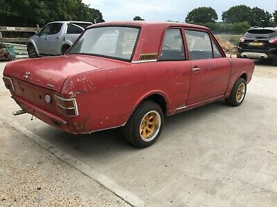 Ford Cortina Mk2 2 Door Lotus Rep Alan Mann Rep