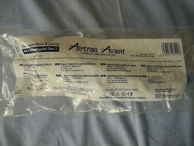 Airtraq Avant  size 3 A-521 Disposable Guided Video Intubation blade eyecup