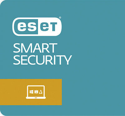 ESET NOD32 Smart Security 12 2019 License 3 PC 1 Years Win 7,8,10