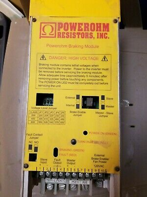 Hubbell Powerohm Brake Module BM4-150 Dynamic Brake Module