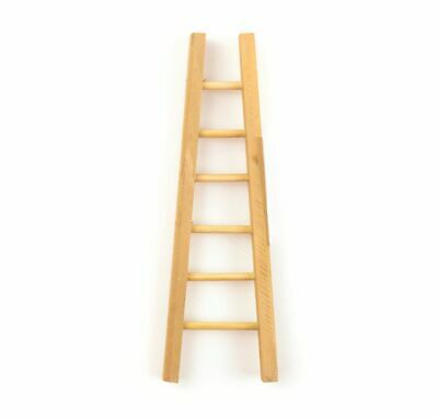 Miniature Dollhouse Fairy Garden Wood Ladder - Buy 3 Save $5