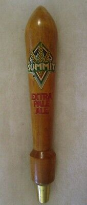 Wooden Summit Brewing Co. Extra Pale Ale Beer Tap Handle