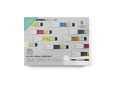 Winsor & Newton 2190602 Galeria Acrylic Paint Gift Collection, 10 Colors