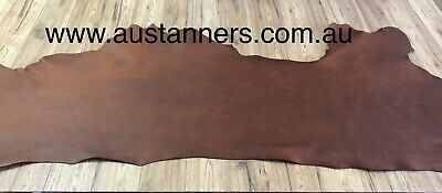 Bowden Milled Leather Sides Tr Grade - Tan