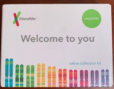 23andMe DNA Test - Ancestry Service PREPAID LAB LABEL (EXP 6/19/2020) SEALED