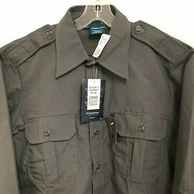 Propper™ Men's Tactical Shirt - Long Sleeve - Charcoal Gray - New with Tags