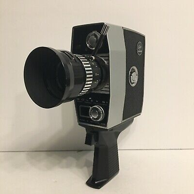 Bolex Paillard 8mm Zoom Reflex Automatic S1 With Original Case 1964 raillard