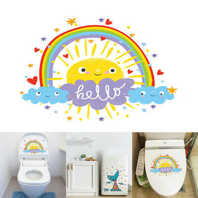2 Designs Colorful Cartoons PVC DIY Decal Wall Sticker Home Decoration Supplies