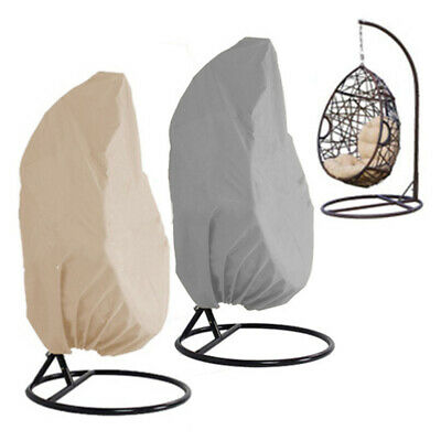 Hanging Hammock Swing Chair Egg Wicker Stand Seat Cover Outdoor Dust-free Clean