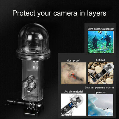 New Sports Camera Waterproof Housing Case Shell Diving 60M For DJI Osmo Pocket