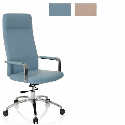 Executive Swivel Chair Reclining Office Chair Fabric SARANTO PLUS I hjh OFFICE