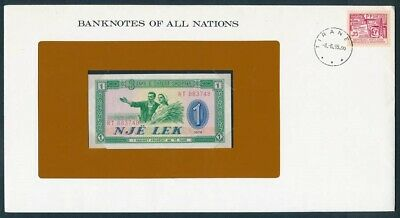 "World: 1966-84 Banknote/Stamp Cover ""SET 10 DIFFERENT"" Banknotes of all Nations"