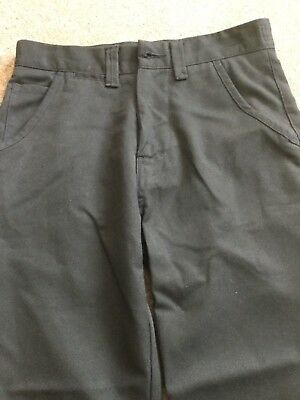 Next Boys Black smart chino Dress  Trousers - Age 10 Years height 140 cm