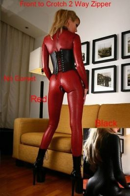 Latex Sexy Kleid Bodystocking Reizwäsche Ouvert Babydoll Catsuit Overal Dessous