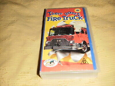 There Goes The Fire Truck 1993 VHS TAPE educational kids VIDEO PAL