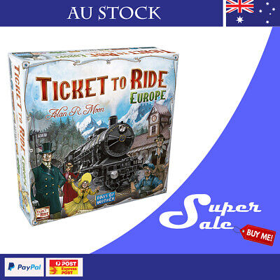 Brand new Ticket To Ride EUROPE Original Board Game Great Family Gift