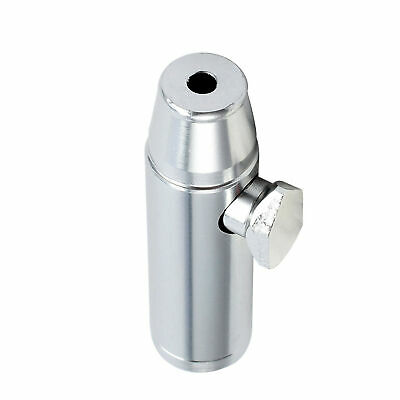 NEW Metal Bullet Shape Portable Aluminum Alloy Easy Clean Mini Pipe Snuff Bottle