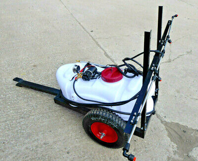 New ! Towable 60Lt Sprayer For Weed / Crops  1.5M Boom, Hand Lance Free P & P