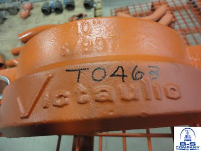 """Victaulic 10"""" 997 HDPE to Steel Transition IPS Coupling"""