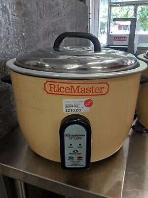 Electric Rice Cooker with Warmer, 37 cups, 120V, Ricemaster 57137