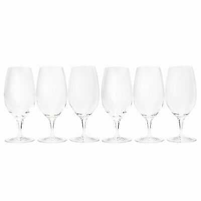 Waterford Crystal Sommelier Set of 6 20 oz Iced Beverage Glasses