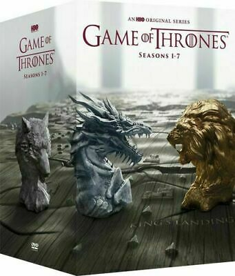 Game of Thrones: The Complete Series Seasons 1-7 (DVD, 2017, 34-Disc Box Set)NEW