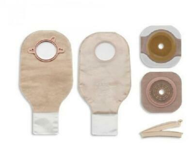 "New Image Two-Piece System Colostomy/Ileostomy Kit, 12"" Length, Drainable, BX/5"