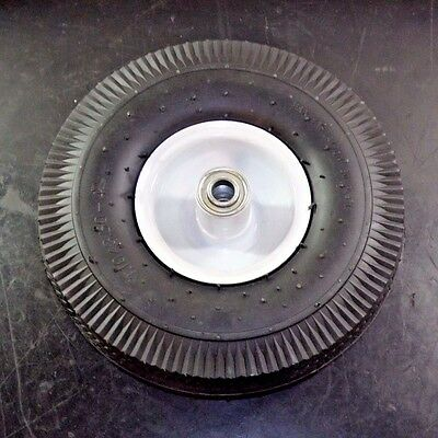 "Pneumatic Wheel 10"" Light-Medium Duty Sawtooth Tread SO1062710G"