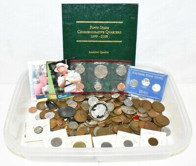 Huge Junk Lot Approx. 3.13 Lbs Coin Collection!!
