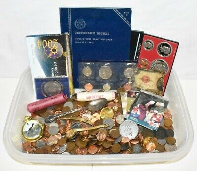 Huge Junk Lot Approx. 6.7 Lbs Coin Collection!!