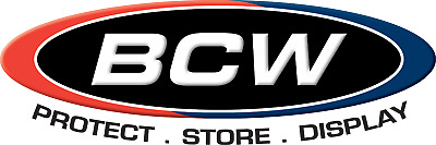 BCW Comic Book Bags (Multiple Sizes & Types)