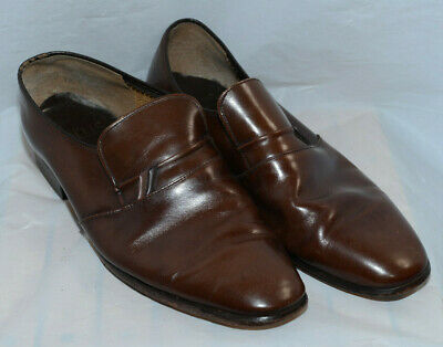 Mens Leather Lotus Vauxhall Brown Shoes UK Size 10 EUR 44