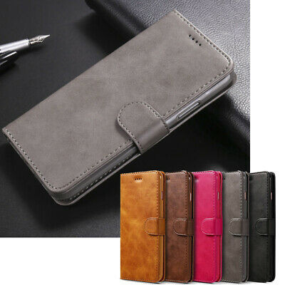 Flip Leather Bag CardHolder Wallet Stand Cover Case Skin For iPhone 8 Plus X 7 6