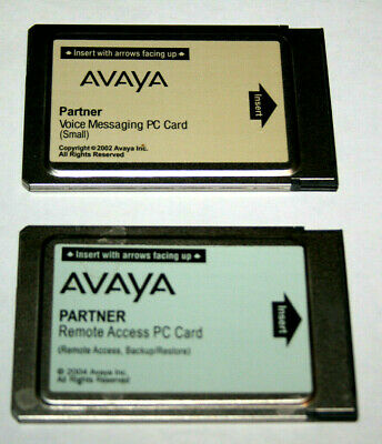 Avaya Partner PC Card CWD3B 700226517 &12G5 700317035
