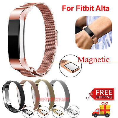 For Fitbit Alta / Alta HR Magnetic Milanese Stainless Steel Watch Band Strap USA