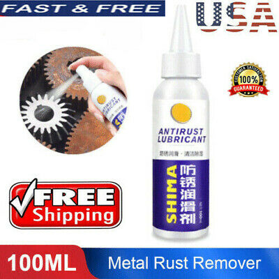 Rust Inhibitor Rust Remover Derusting Spray Car Maintenance Clean professional
