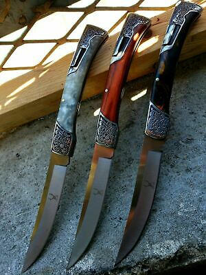 """10"""" Tactical Hunting Classic Western Folding Pocket Knife Handle 3CR13 Stainless"""