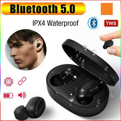 For Xiaomi Redmi TWS Airdots Headset Bluetooth 5.0 Earphone Stereo Headphone AAA