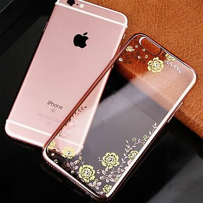 Bling Glitter Case For iPhone 7 Plus 8 5s XS Max Clear Gel Soft Phone Case Cover