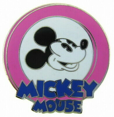 2010 Disney Oh Mickey Mystery Pouch Yellow Pin