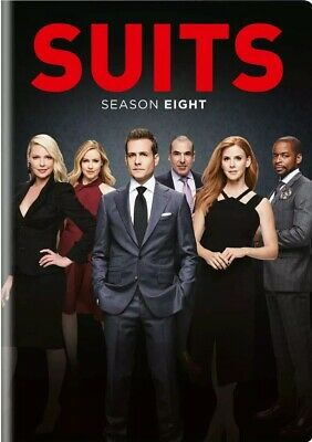 Suits Season 8 (DVD) COMPLETE - Brand New - UK Compatible - Quick Dispatch