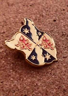 Star Trek Jean Luc Picard family crest Lapel Pin.
